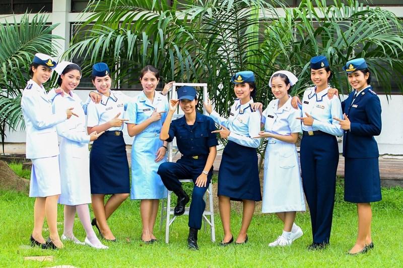 พยาบาลทหารอากาศ พยาบาลศาสตรบัณฑิต รับตรง รับตรง 61