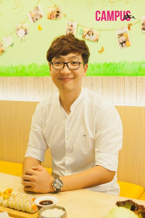 """ลี จงจิน เจ้าของร้านอาหารเกาหลี """"KIANI"""""""