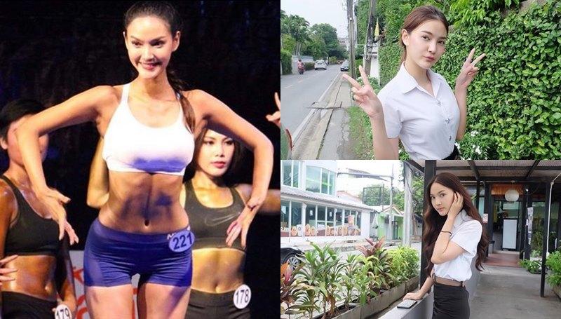 กีฬามหาวิทยาลัยแห่งประเทศไทย ดาราเรียนเก่ง นักกีฬาเพาะกาย สวย อิงฟ้า