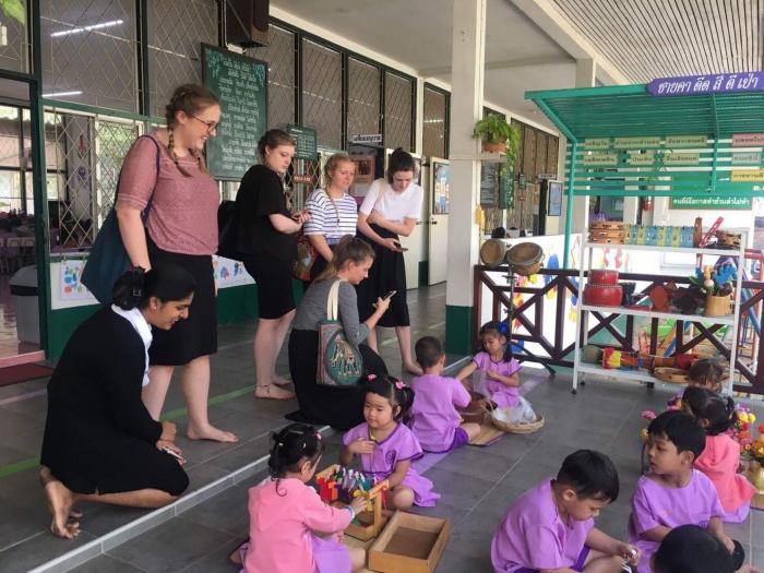 โครงการแลกเปลี่ยนเรียนรู้ด้านการศึกษา และวัฒนธรรมไทย-อังกฤษ ปีที่ 3