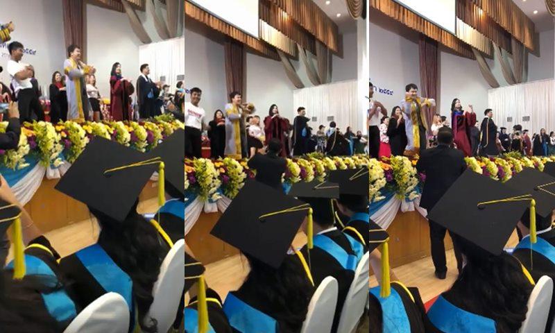 BNK48 utcc คุ้กกี้เสี่ยงทาย บัณฑิต พิธีจบการศึกษา