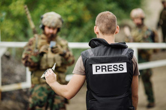 นักข่าวหนังสือพิมพ์