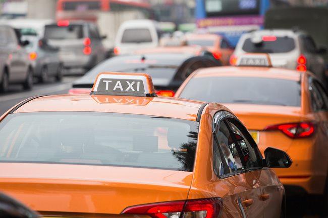 คนขับแท็กซี่