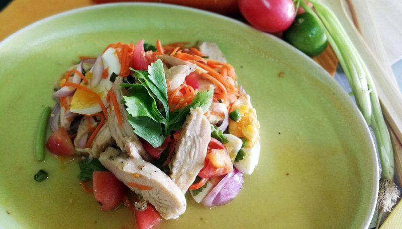 สูตรอาหารทำง่าย อกไก่ อาหารคลีน เมนูยำ เมนูเด็กหอ ไข่ต้ม