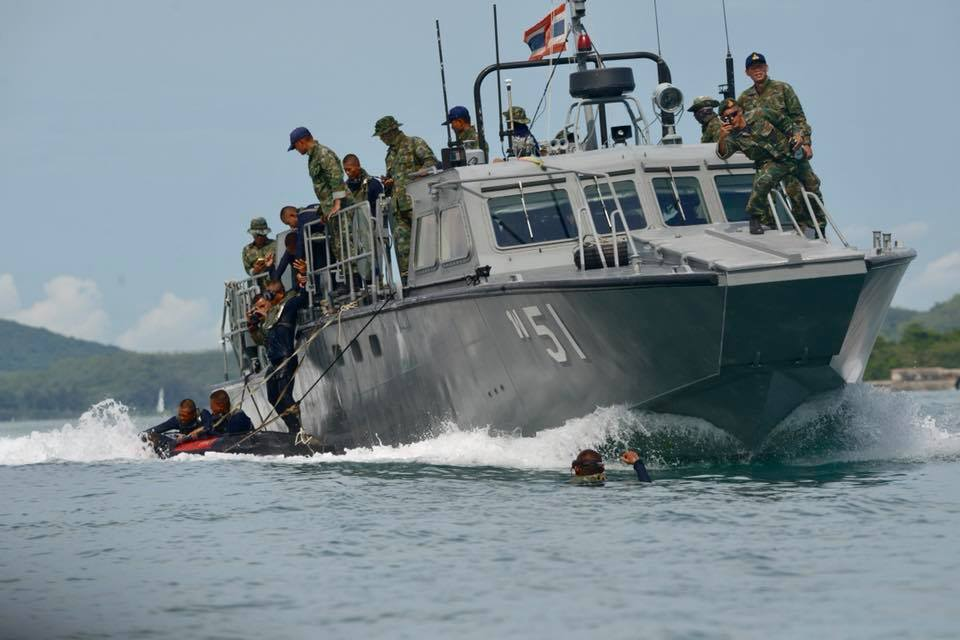 กองทัพเรือไทย มนุษย์กบ หน่วยซีล หลักสูตรนักทำลายใต้น้ำจู่โจม