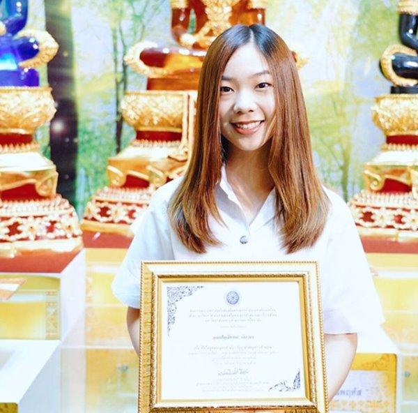 ปัญ BNK48ทูตพระพุทธศาสนา วันอาสาฬหบูชา