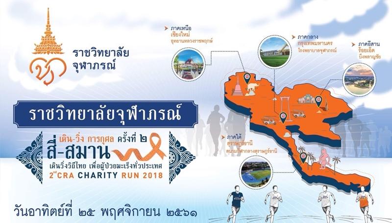 วิ่งการกุศล เดิน-วิ่ง ครั้งที่2 เดินวิ่งวิถีไทย