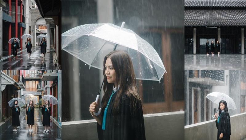 ถ่ายรูปรับปริญญา ถ่ายรูปรับปริญญาหน้าฝน ท่าโพสต์ถ่ายรูปรับปริญญา รับปริญญา