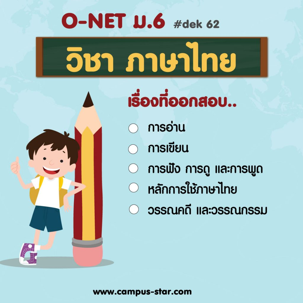 01 วิชาภาษาไทย