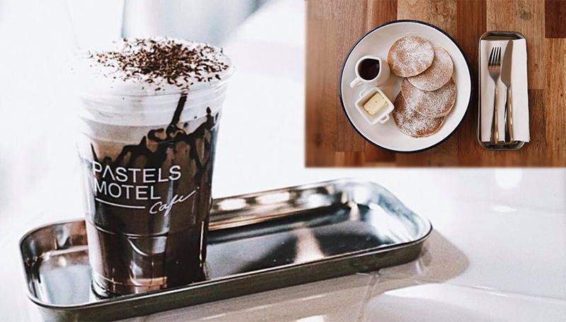 ANYWHERE Pastels Motel Pastels Motel Café ร้านนั่งชิล ร้านน่านั่ง ร้านอาหารอร่อย ร้านเก๋ๆ ร้านแถวทองหล่อ