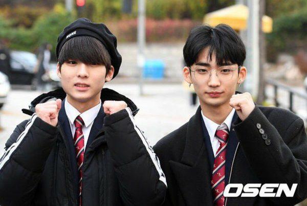 จีซอง และ ฮยอนอู วงTRCNG