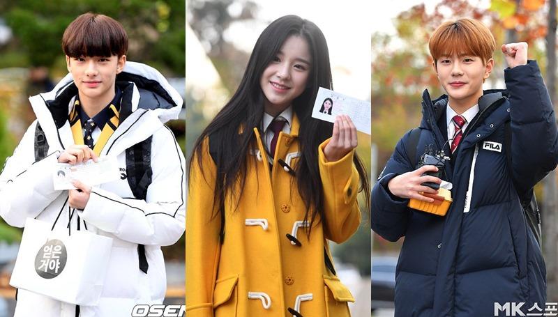 การสอบซูนึง การสอบเข้ามหาวิทยาลัย ซูนึง สอบซูนึง เกาหลี เกาหลีใต้ ไอดอล