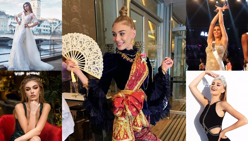 Miss Universe 2018 Trejsi Sejdini น้องแตร๊ดซี่ มิสแอลเบเนีย เตรย์ซี เซย์ดีนี