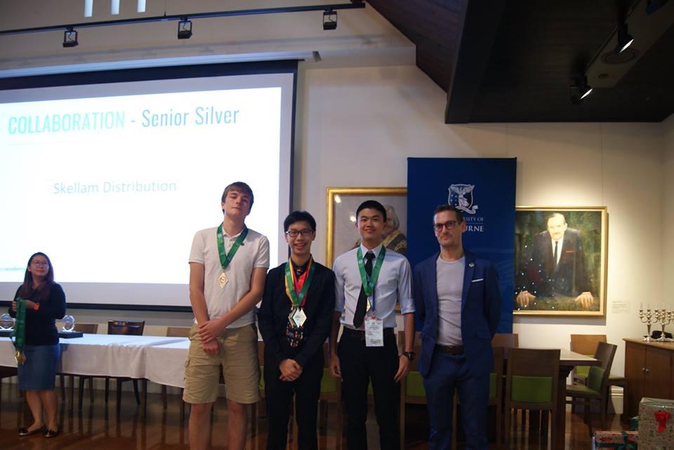 น้องไปป์ ลูกชายยิ่งลักษณ์ คว้า 2 เหรียญเงิน แข่งขันคณิตศาสตร์โลก ที่ออสเตรเลีย