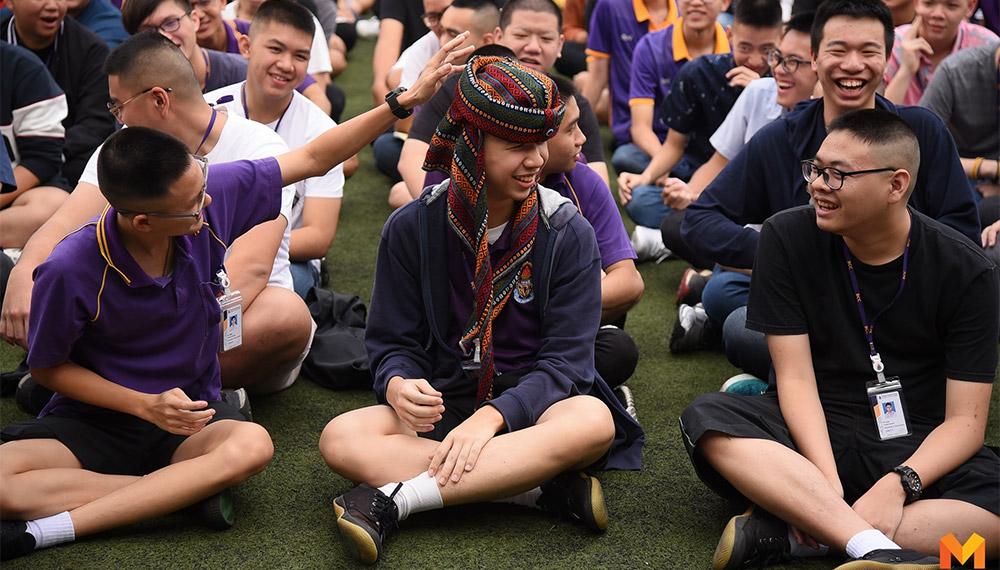 ชุดนักเรียน ชุดไปรเวท นักเรียน เครื่องแต่งกาย เครื่องแต่งกายของนักเรียน โรงเรียนชาย โรงเรียนชายล้วน