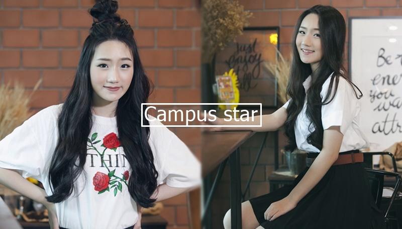 campus star cute girl คลิปสาวน่ารัก คลิปสาวมหาลัย นักศึกษาน่ารัก วีวี่-ภัทรวดี