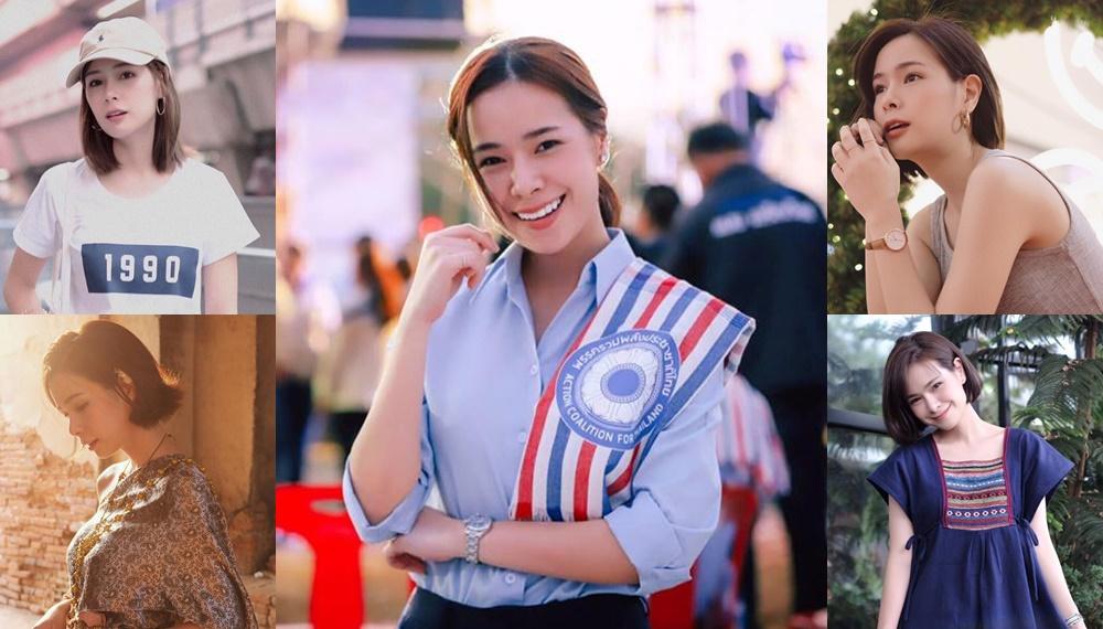 การเลือกตั้ง นักการเมืองน่ารักบอกต่อด้วย ประวัตินักการเมือง ปอมมี่ กัญญาภัค พรรครวมพลังประชาชาติไทย