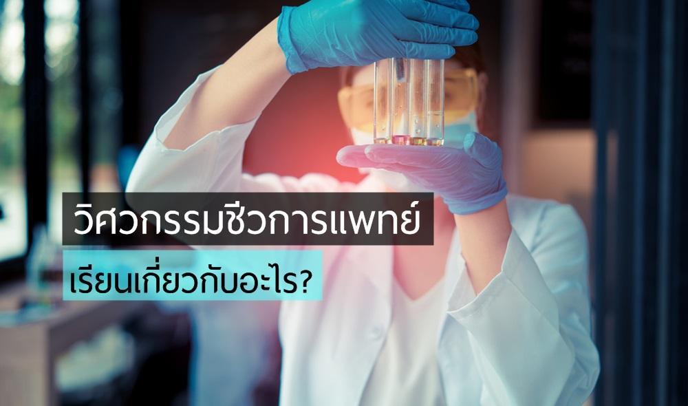 คณะน่าเรียน คณะวิศวกรรมศาสตร์ จบแล้วทำงานอะไร วิศวกรรมชีวการแพทย์ หลักสูตรการเรียนการสอน