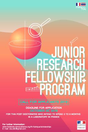 ทุนสนับสนุนโครงการวิจัยสำหรับนักวิจัยรุ่นเยาว์