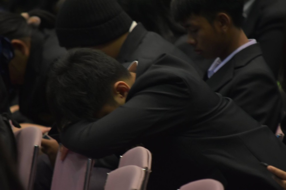 #นอนน้อยแต่นอนนะ สีสันงานปัจฉิมนิเทศปี 61 วิทยาลัยอาชีวศึกษาเชียงใหม่