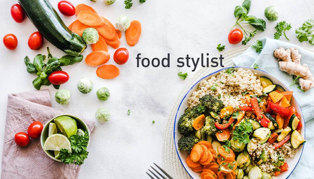 food stylist ทำอาหาร อาชีพ