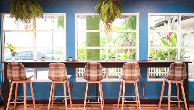 Café By Home มหาวิทยาลัยสวนดุสิต ร้านนั่งชิล ร้านน่านั่ง ร้านอาหารอร่อย