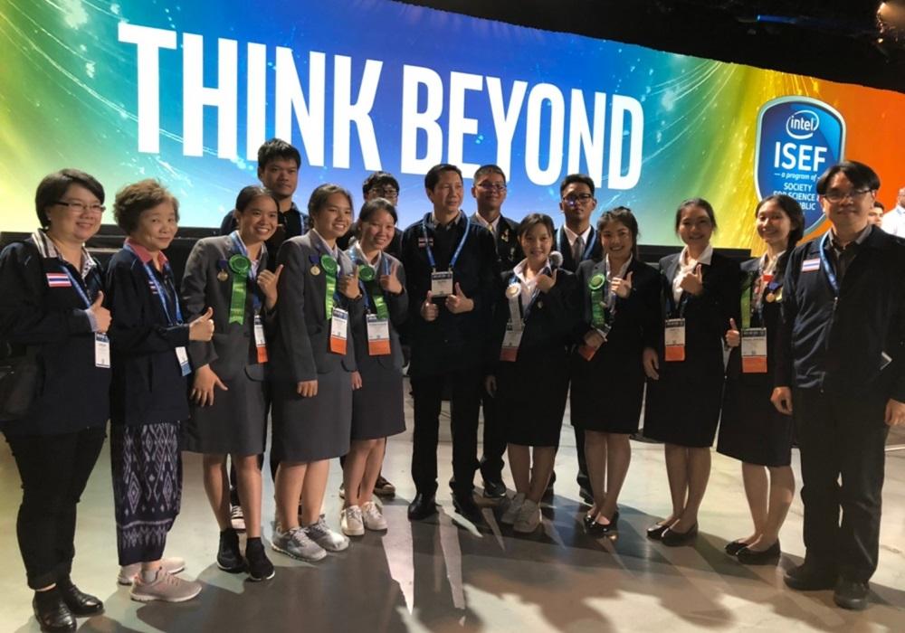 Intel ISEF 2019 การแข่งขันโครงานวิทยาศาสตร์ระดับโลก ประเทศสหรัฐอเมริกา เด็กเก่ง โครงงานวิทยาศาสตร์