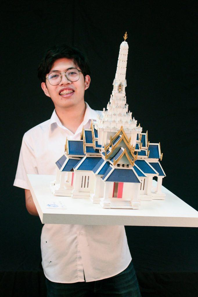 ผลงานการออกแบบ ศาลหลักเมือง กรุงเทพฯ นศ. ม.ศิลปากร