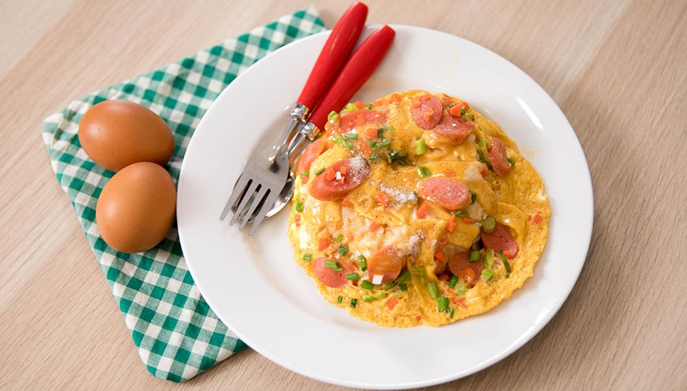 สูตรอาหารทำง่าย เมนูเด็กหอ เมนูไข่ เมนูไมโครเวฟ