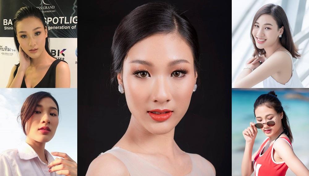 Miss Universe Thailand ญาดา พิมพ์นารา นางงาม บัณฑิตเกษตรศาสตร์ มิสไทยแลนด์ยูนิเวิร์ส