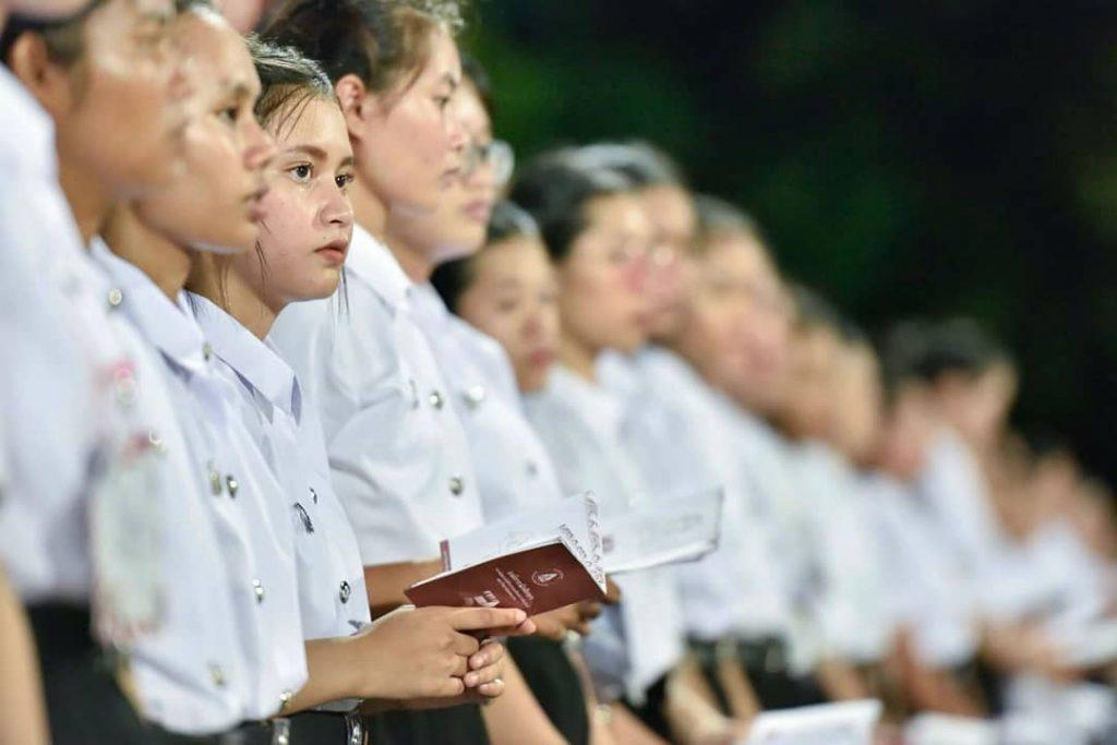 กิจกรรมต้อนรับน้องใหม่ 1 เดียวในไทย