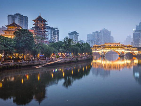 เมืองเฉิงตู มณฑลเสฉวน ประเทศจีน
