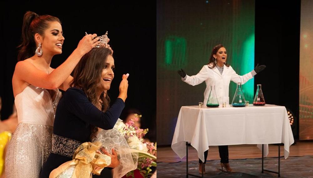 Camille Schrier Miss America Miss Virginia นักศึกษาปริญญาโท นางงาม ประเทศสหรัฐอเมริกา