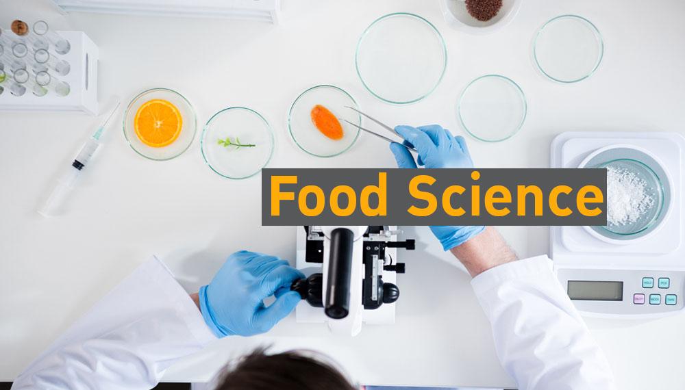 Food Science วิทยาศาสตร์อาหาร