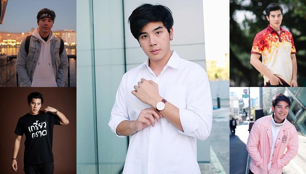 Cute Boy Thailand TUSexyBoy ประวัติการศึกษาดารา มาร์คพูม ณฐพนธ์