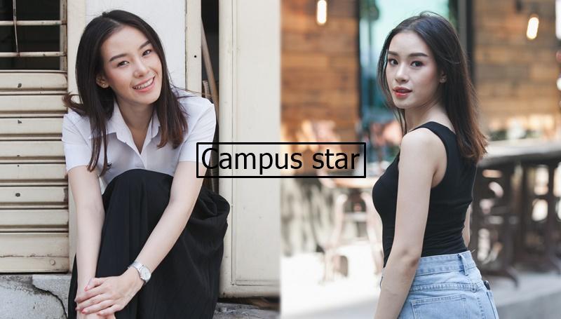 campus star cute girl คลิปสาวน่ารัก ม.หอการค้าไทย
