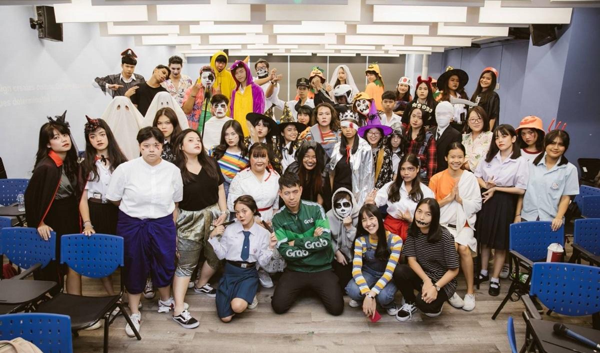 Halloween ทีมมศว วันฮาโลวีน วิทยาลัยนวัตกรรมสื่อสารสังคม