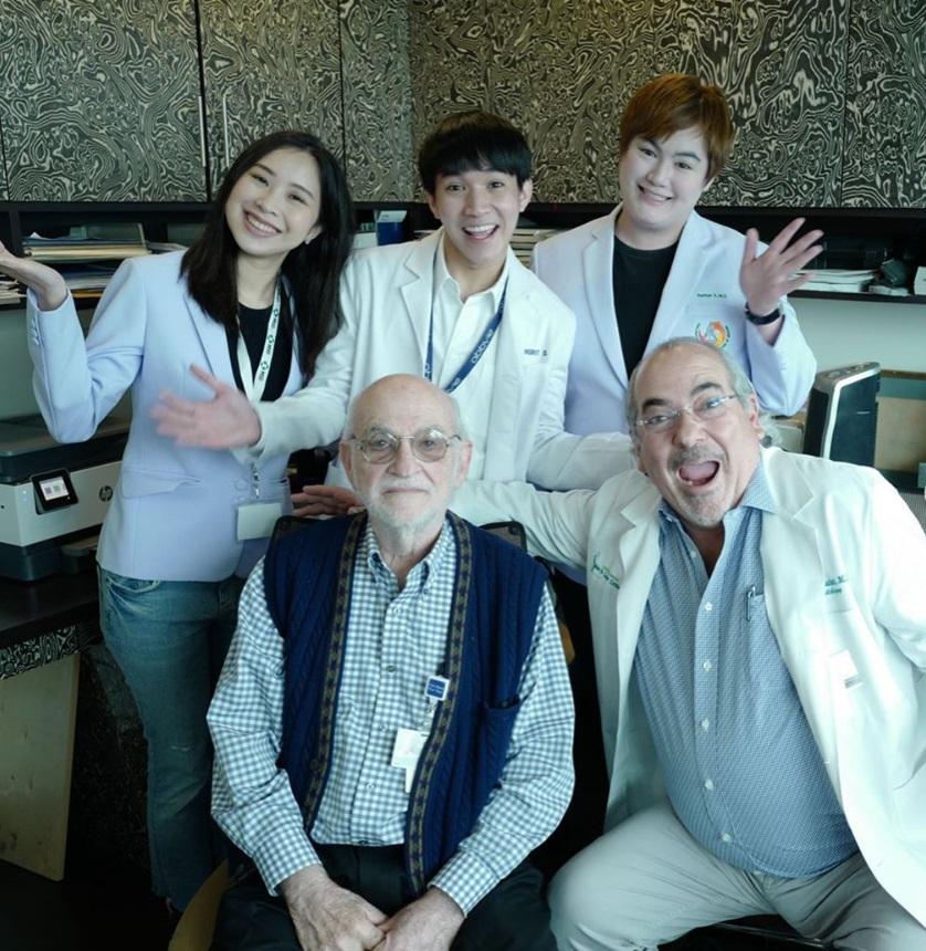 หมอริท จบคอร์สพิเศษด้านผิวหนัง ที่สหรัฐฯ