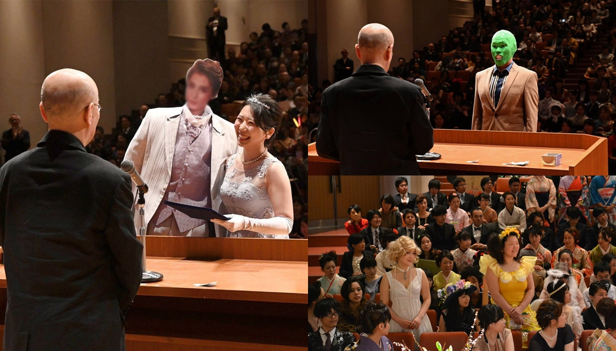 การแต่งกายรับปริญญา ญี่ปุ่น