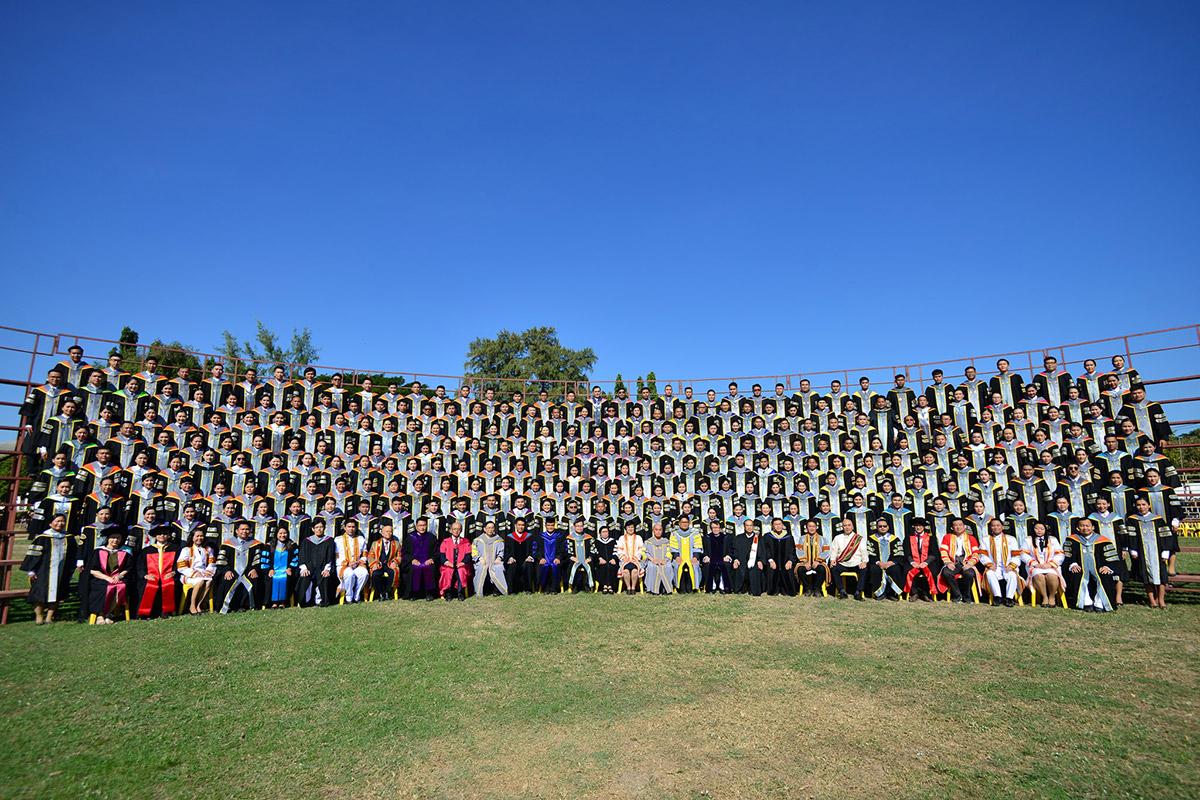 ภาพบรรยากาศ ซ้อมใหญ่บัณฑิต มมส 9,356 คน