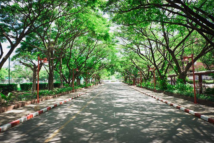 พาทัวร์ มุมสวย ๆ ภายใน มหาวิทยาลัยหัวเฉียวเฉลิมพระเกียรติ